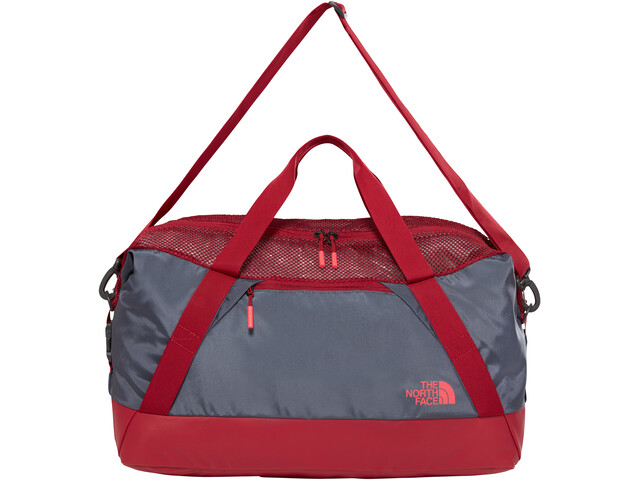 The North Face Apex Gym Duffel M, turbulence grey/rumba red